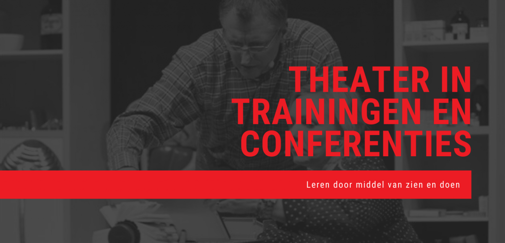 Roos Exoo theater in trainingen